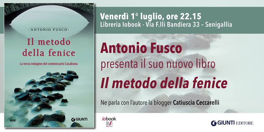 """Presentazione del libro """"Il metodo della fenice"""" con Antonio Fusco"""