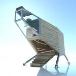 Render2- Spaceship- Rubner Haus, IED
